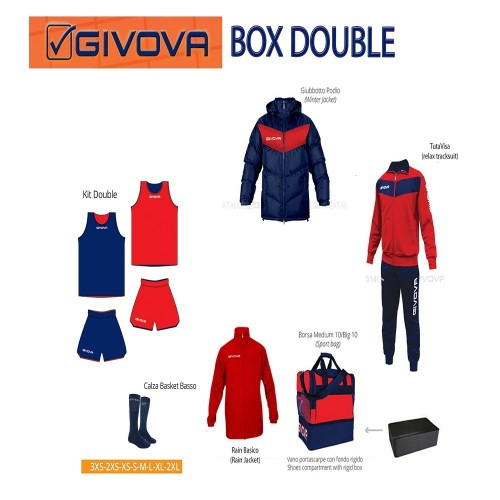 124151 Box Givova Basketball